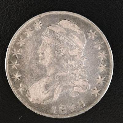 1819 Capped Bust Silver Half Dollar