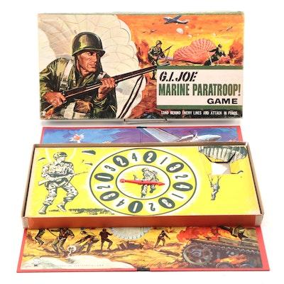 "Hasbro ""G.I. Joe Marine Paratroop!"" Board Game, 1960s"