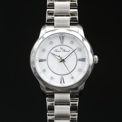 Lucien Piccard Stainless Steel Quartz Wristwatch