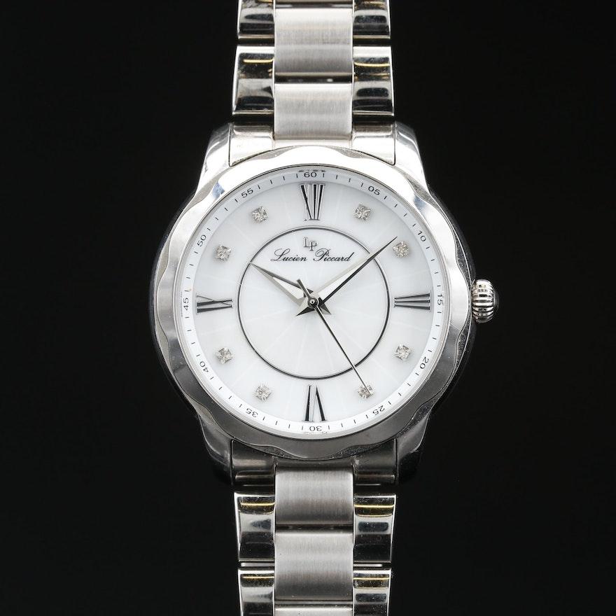 Lucien Piccard Stainless Steel Quartz Wristwatch