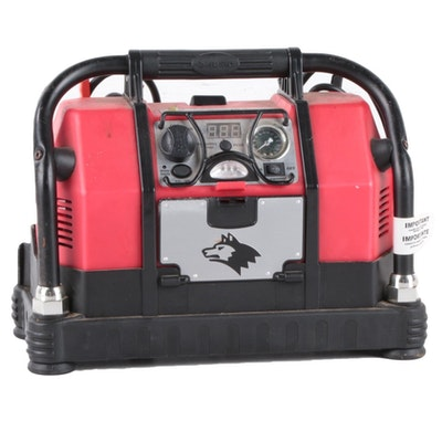 Husky Portable AC/DC Power System Inverter Generator, Compressor and Jump Start