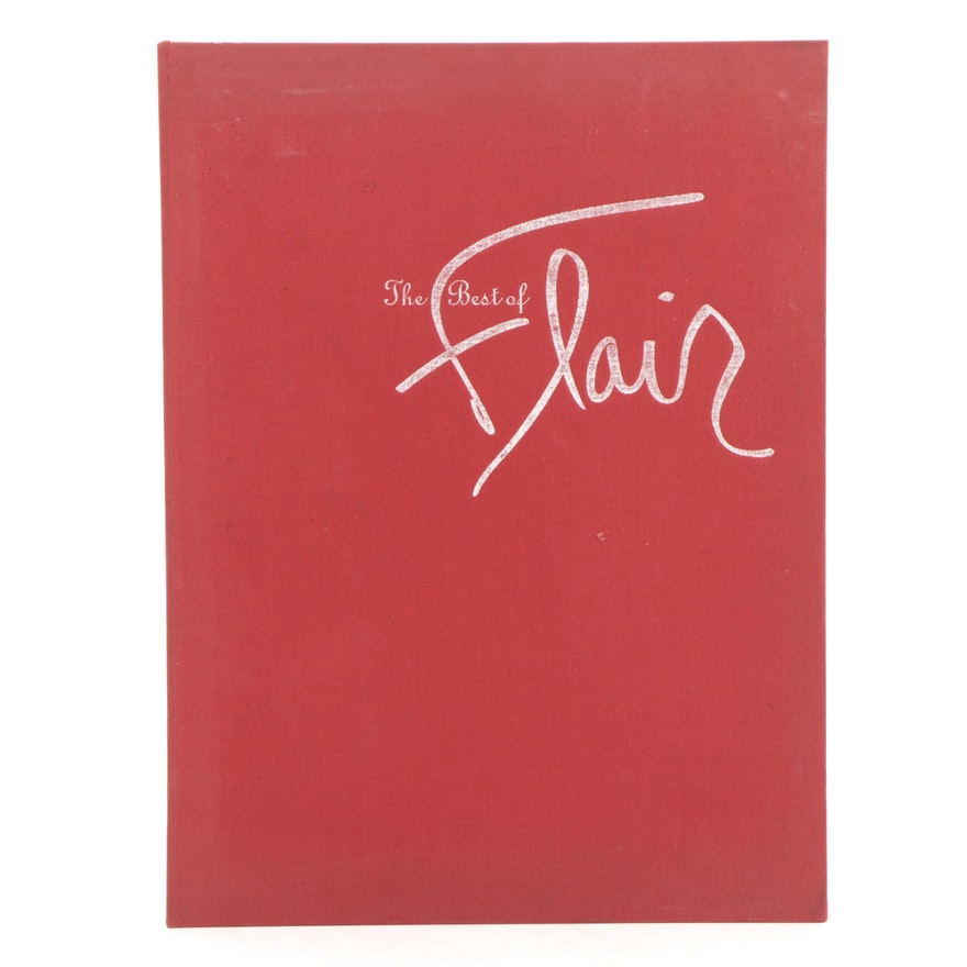 """Signed First Printing """"The Best of Flair"""" Edited by Fleur Cowles, 1996"""