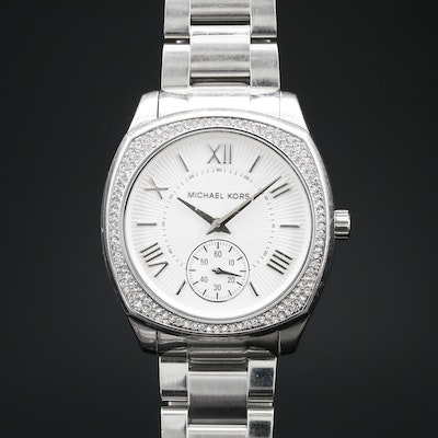 Michael Kors Bryn Stainless Steel Quartz Wristwatch