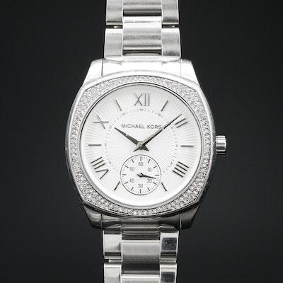 Michael Kors Bryn Stainless Steel Quartz Wristwatch