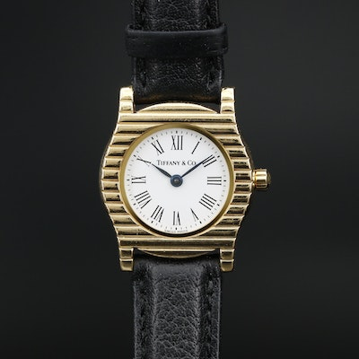 18K Gold Tiffany & Co. Quartz Wristwatch