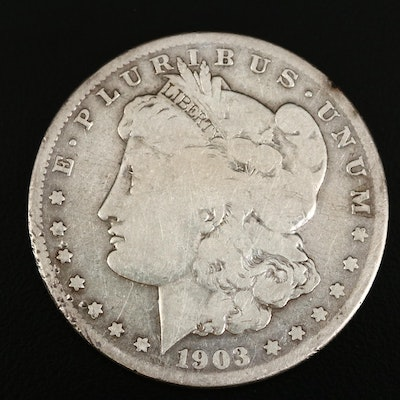 Better Date 1903-S Morgan Silver Dollar