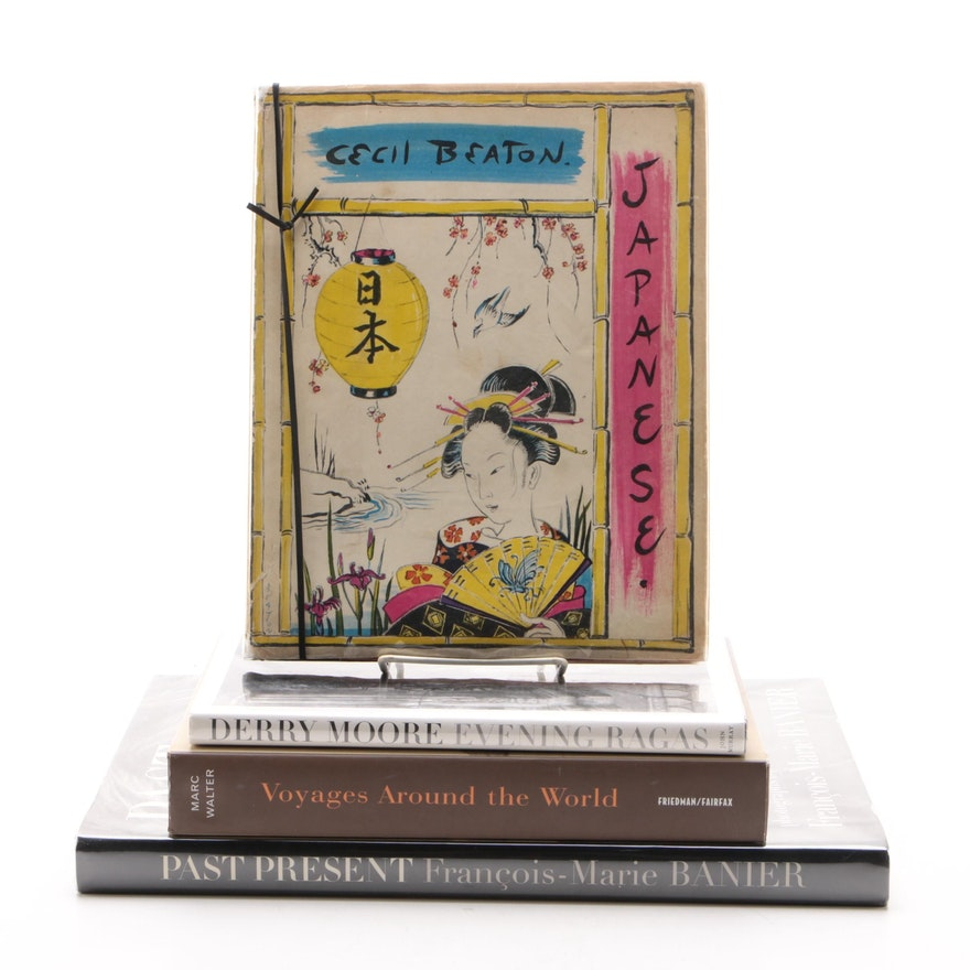 """Photography Books Including """"Past Present"""" by François-Marie Banier"""