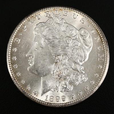 1899-O Morgan Silver Dollar