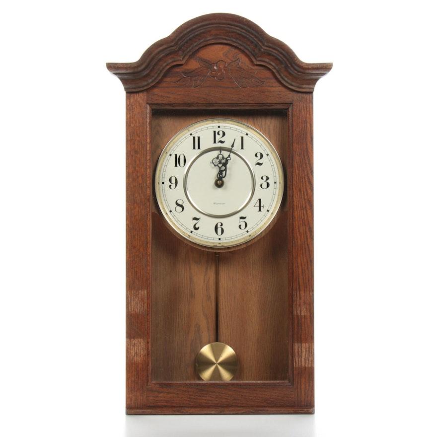 Howard Miller Bellflower Clock in Oak Yorkshire