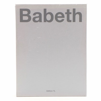 "First Edition ""Babeth"" Photography Book by Elisabeth ""Babeth"" Djian, 2008"