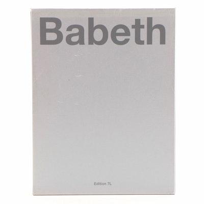 """First Edition """"Babeth"""" Photography Book by Elisabeth """"Babeth"""" Djian, 2008"""
