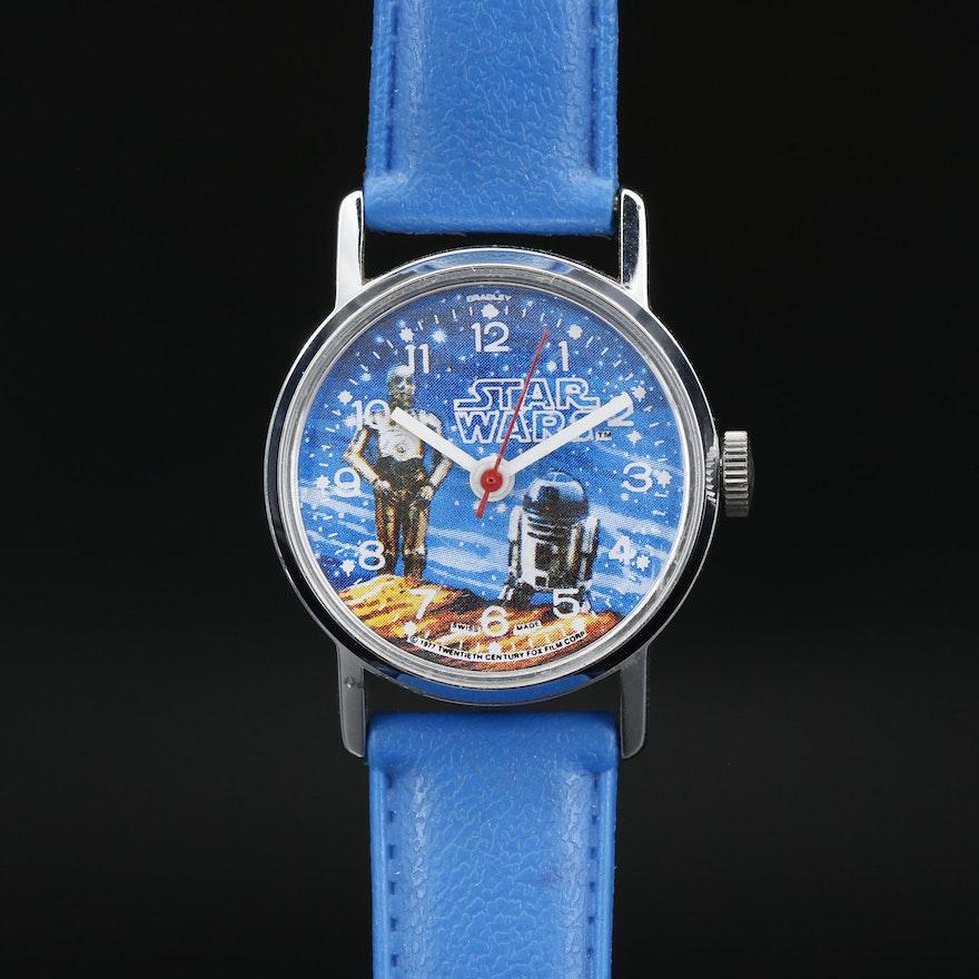 Bradley Swiss Made Star Wars Stem Wind Wristwatch