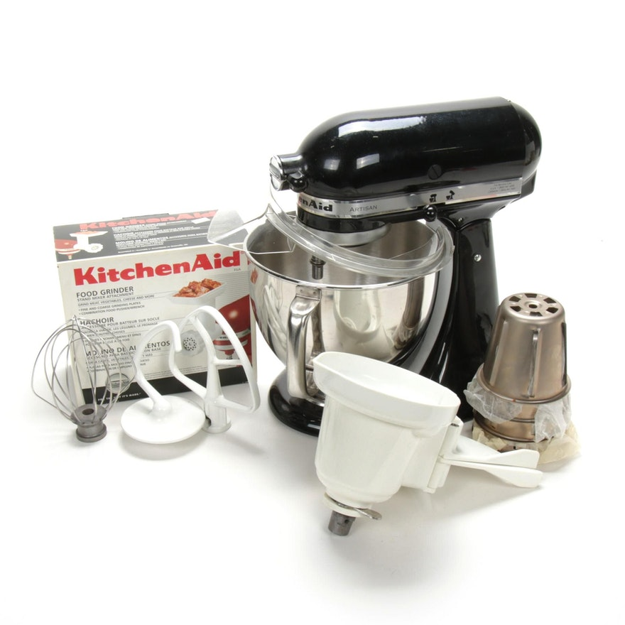 KitchenAid Artisan Series 5-Quart Tilt-Head Stand Mixer with Attachments