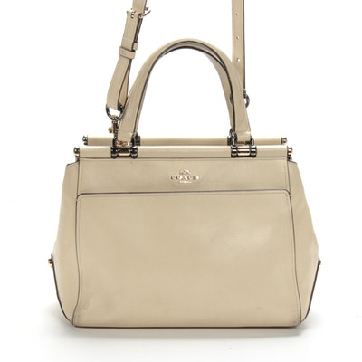 Coach x Selena Gomez Grace Leather Satchel Bag