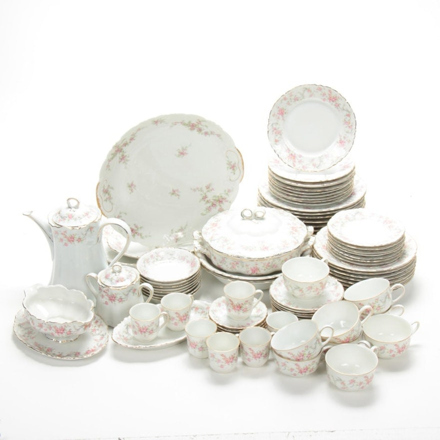"""Hutschenreuther """"The Richelieu"""" and Other Porcelain Dinnerware and Serveware"""