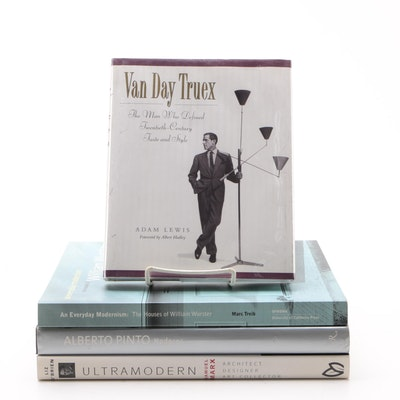 "Interior Design and Architecture Books Including ""Van Day Truex"" by Adam Lewis"