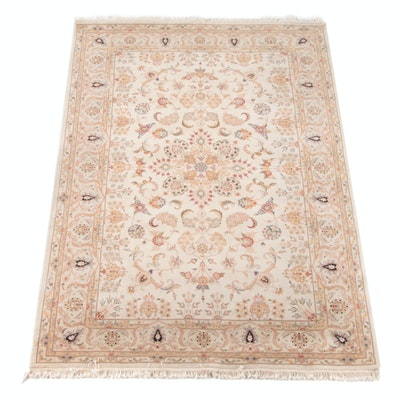 5'10 x 9'2 Hand-Knotted Persian Wool Rug