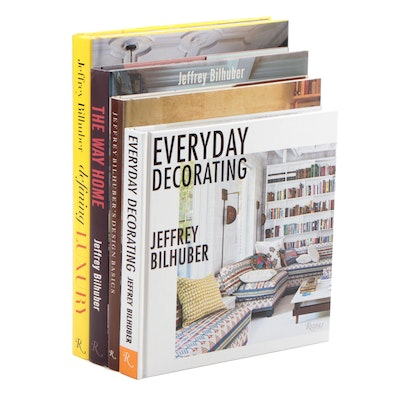 "Signed First Edition ""Defining Luxury"" and Other Jeffrey Bilhuber Design Books"