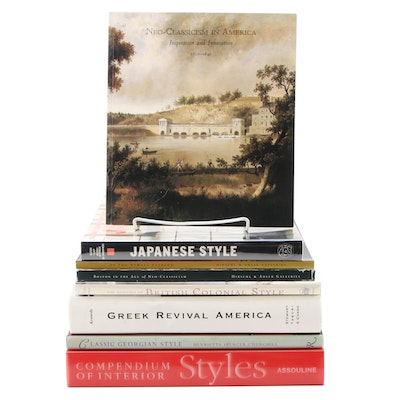 """Signed """"Greek Revival America"""" by Roger Kennedy with Architectural Style Books"""