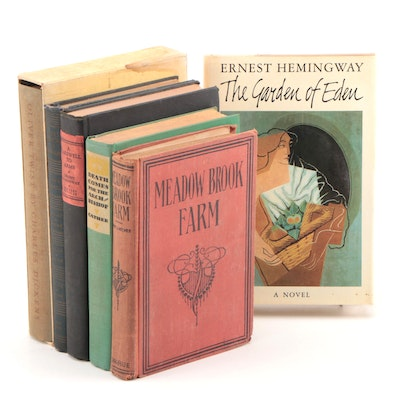 "First Printing ""The Garden of Evil"" by Ernest Hemingway with Other Books"