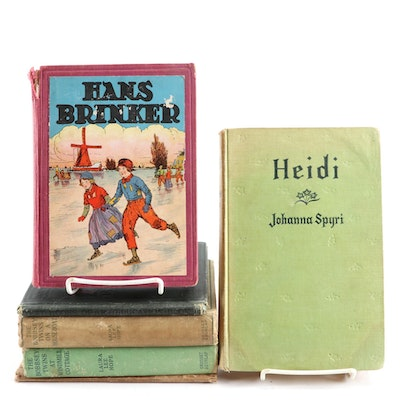 "Children's Books Including ""Heidi"", ""Hans Brinker"", ""The Bobbsey Twins"" and More"