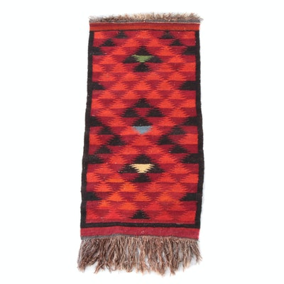 2'4 x 5'7 Handwoven Southwestern Style Kilim Wool Rug
