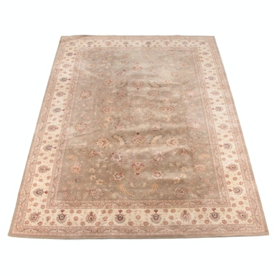 9'9 x 13'6 Hand-Tufted Indo-Persian Mahal Wool Rug