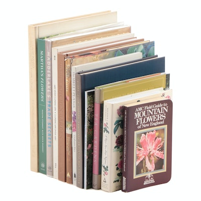 """Flowers, Gardening, and Landscaping Books Including """"Tea Gardens"""" by Ann Lovejoy"""