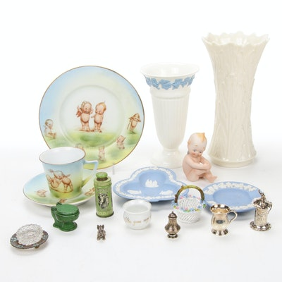 Lenox Vases, Wedgewood Ashtrays and Other Small Trinkets