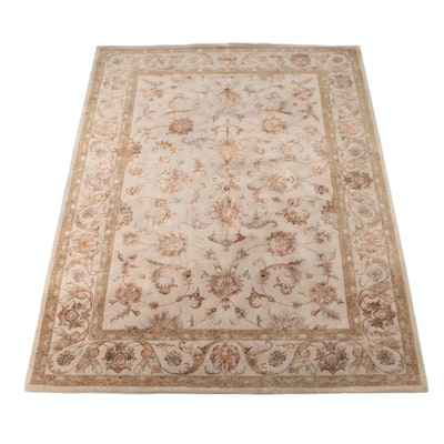 """8'0 x 11'1 Hand-Tufted Indian Feizy """"Rutherford"""" Wool Rug"""