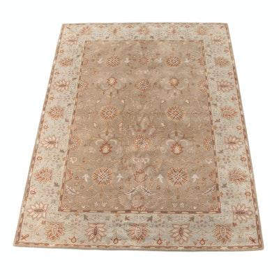 8'0 x 10'11 Hand-Tufted Indian Mahal Wool Rug