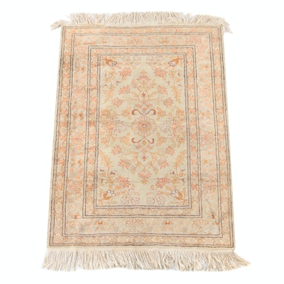 3'0 x 5'0 Hand-Knotted Turkish Bazaar 54 Kayseri Wool Rug