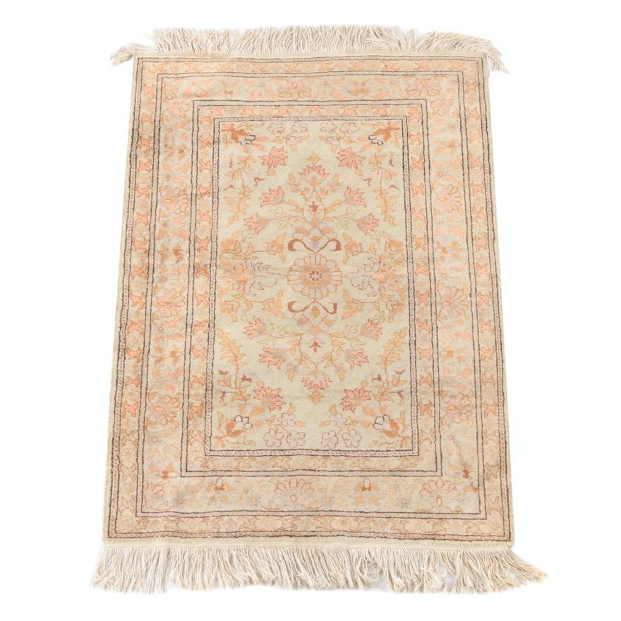 3'0 x 5'0 Hand-Knotted Turkish Bazaar 54 Kayseri Wool Rug