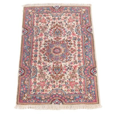 3'1 x 5'1 Hand-Knotted Persian Mehriban Wool Rug