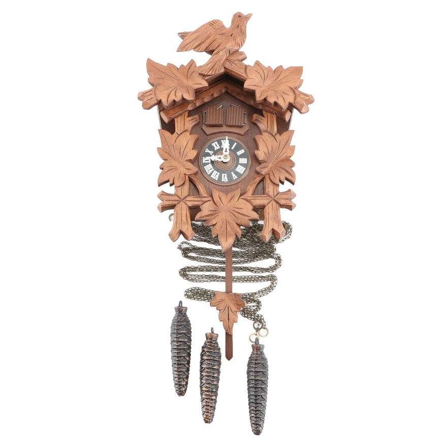 Two Door Musical Cuckcoo Clock, Vintage