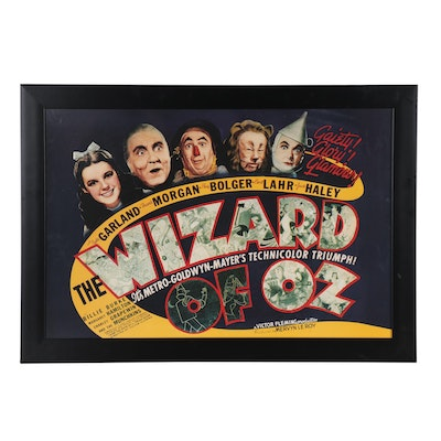 """""""The Wizard of Oz"""" Offset Lithograph Reproduction Poster, 21st Century"""