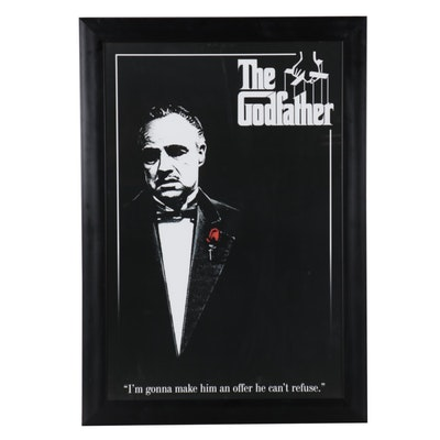 """""""The Godfather"""" Offset Lithograph Reproduction Poster, 21st Century"""