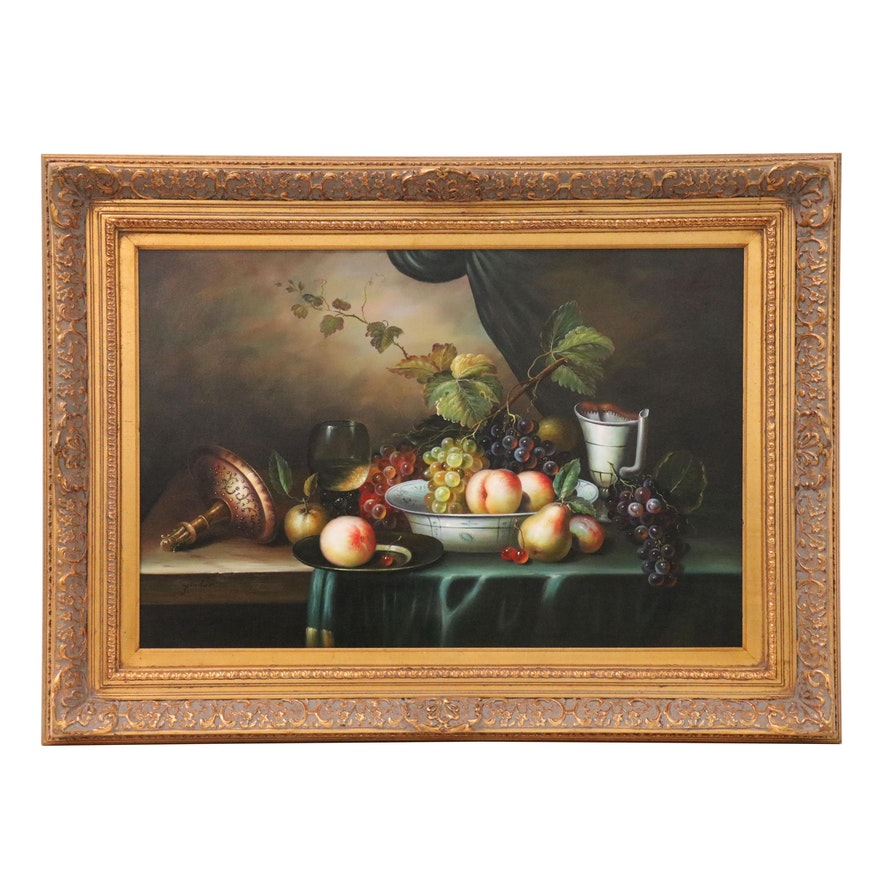 Andrew Pinder Still Life Oil Painting, 21st Century