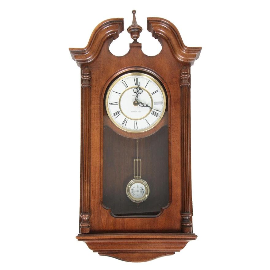 Howard Miller Danwood Clock in Windsor Cherry