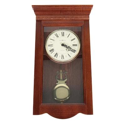 Howard Miller Eastmont Clock in Windsor Cherry, Contemporary