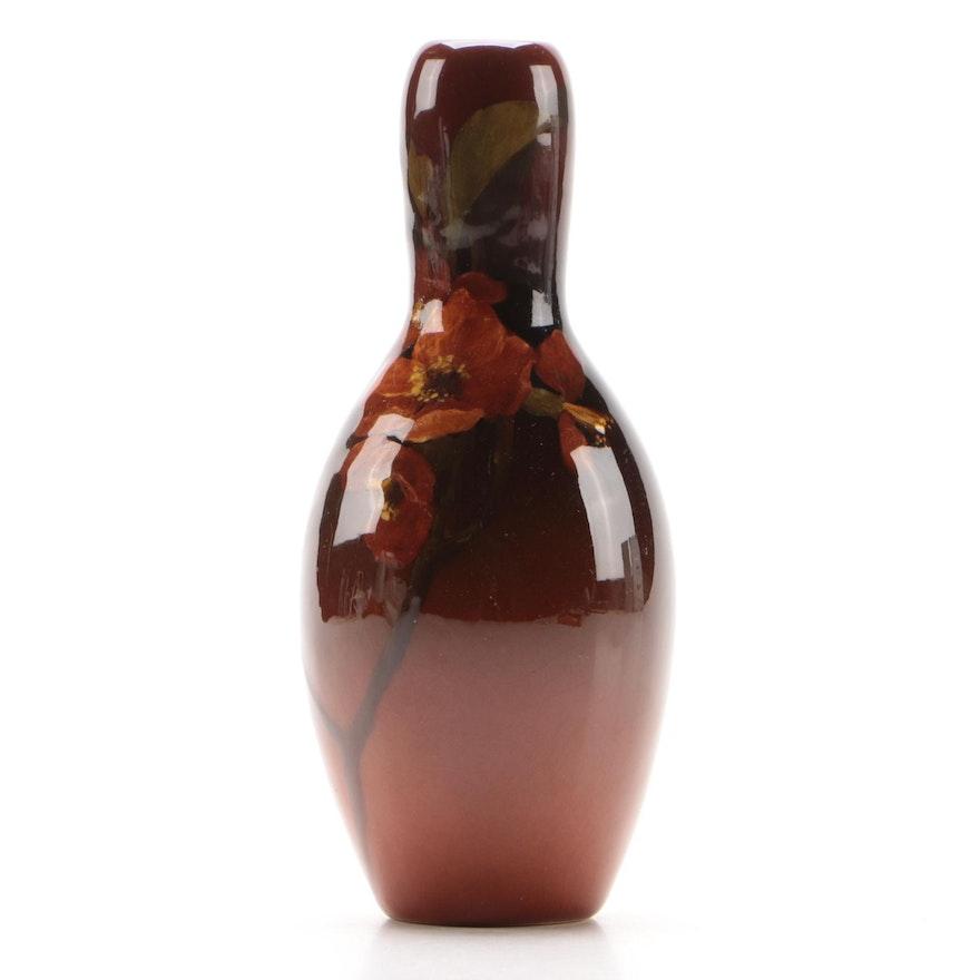 Irene Bishop for Rookwood Pottery Standard Glaze Bud Vase, 1902