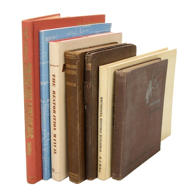 "Historic Preservation and Drafting Books Featuring ""The ABC of Drawing"""