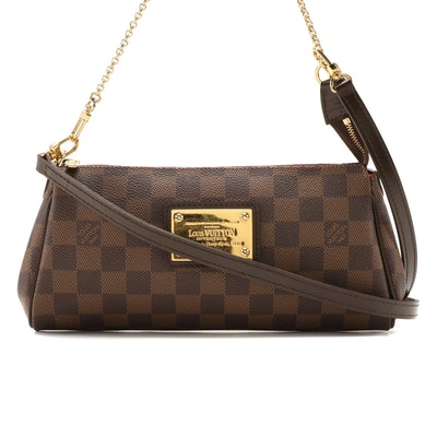 Louis Vuitton Eva Crossbody in Damier Coated Canvas