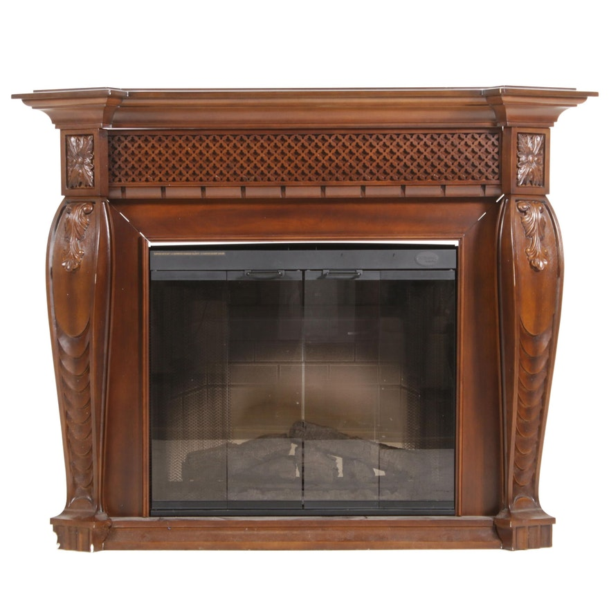 "DC Dimplex ""MultiFire"" Electric Fireplace, Contemporary"