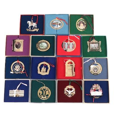White House Historical Association Christmas Ornaments