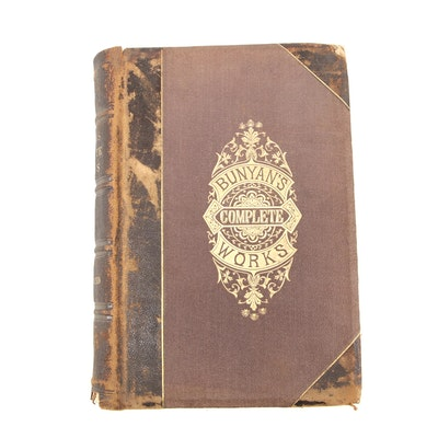 "1876 Illustrated Edition ""The Complete Works of John Bunyan"""