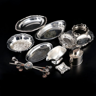 International Silver, Reed & Barton and other Silver Plate Serving Pieces