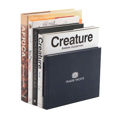"Signed ""Creature"" by Andrew Zuckerman and Other Coffee Table Books"