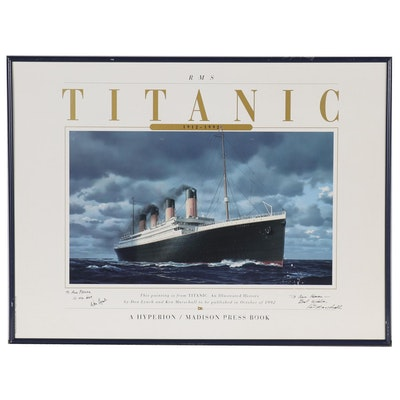 "Ken Marschall Offset Lithograph after ""Titanic: An Illustrated History"" Cover"