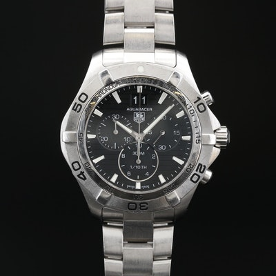TAG Heuer Aquaracer Stainless Steel Quartz Wristwatch